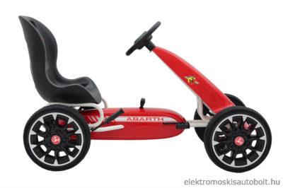 pedalos-gokart-abarth-licence-eva-kerekkel-piros-2