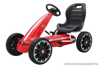pedalos-gokart-abarth-licence-eva-kerekkel-piros-3