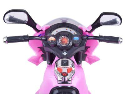 Sport Gyermek Elektromos Kismotor 6V-Tárolódobozzal-Rózsaszín