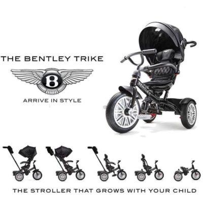 prémium-kategóriás-bentley-trike-6-az-1-ben-babakocsi-átalakítható-tricikli-lucfenyő-zöld