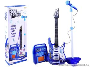 elektromos gitar gyerekeknek mikrofonnal kek