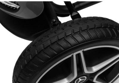 Mercedes Benz Pedálos Gokart-Állítható Üléssel-EVA Kerékkel-2 Év Jótállással-Fekete