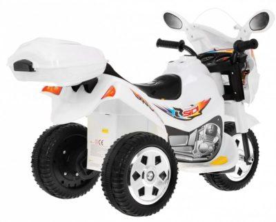 Sport Gyermek Elektromos Kismotor 6V-Tárolódobozzal-Fekete
