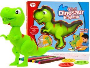 t-rex-dinoszaurusz-kivetítő-projektor-tollkészlettel