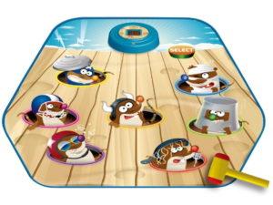 elemes vakondhajsza szőnyeg-lcd kijelzővel-Ügyességi játék