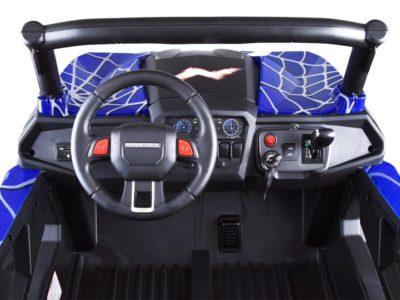 Elektromos Kisautó Dynamic 24V-os-200W-os Kerékmotorokkal-Piros