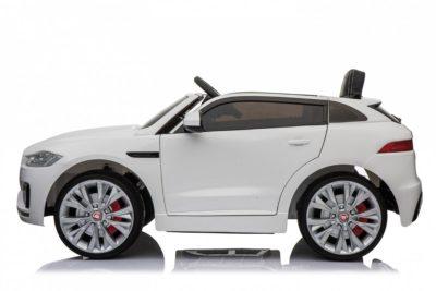 Elektromos Kisautó Jaguar F-Pace-Takaróponyvával-Fehér