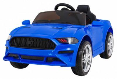 Elektromos Kisautó Mustang Sport GT-re hasonlító-Nyitható Csomagtartó-Piros