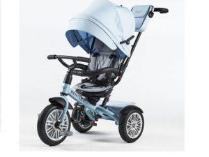 prémium kategóriás bentley trike 6 az 1-ben-babakocsi-Átalakítható tricikli-kék