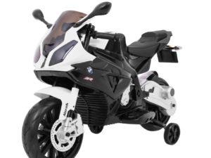 elektromos kismotor bmw s1000 rr-pótkerékkel-kitámasztóval-ülésmagasság: 51 cm-fekete