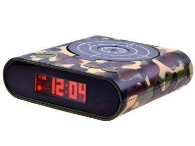 fegyverrel ellátott Ébresztőóra-Ébresztési hang felvételi opció-saját ébresztési hang lejátszásához-játékmód