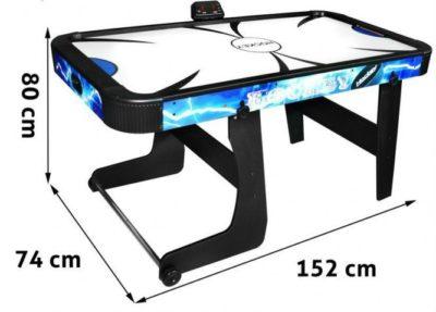 léghoki asztal elektronikus pontszámlálóval-Összecsukható-152 x 74 x 76 cm
