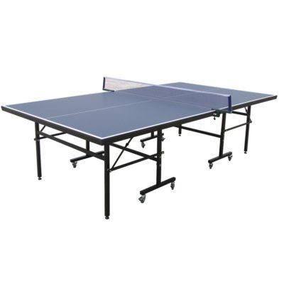 beltéri ping-pong asztal-Ütővel-labdával-könnyen Összecsukható-felhajtható-egyedül is játszható-274 x 152.5 x 76 cm
