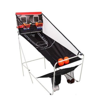 labdadobáló játékkészlet 3 az1-ben 140 x 75 x 165 cm-Összecsukható-pontszámolóval-8 játék móddal-Ügyességi játék