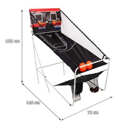 játékkészlet 3in1 140 x 75 x 165 cm-Összecsukható