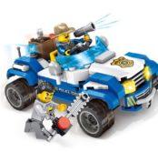 pol pl techniczne klocki 2w1 zbuduj pojazd policja za3435 15587 2 174x178 Elektromos kisautók
